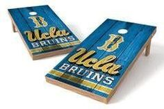 UCLA Bruins Single Cornhole Board - Vintage