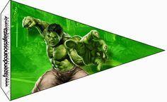 Hulk Free Party Printables.
