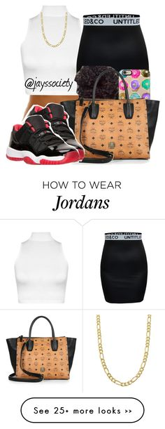 """Dont Worry Bout My N*ggas Cos I got em"" by babiishortiee on Polyvore featuring WearAll, Casetify, MCM and Fremada"