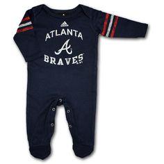 Atlanta Braves Baby Sleeper