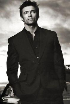 Resultado de imagem para hugh jackman in a suit