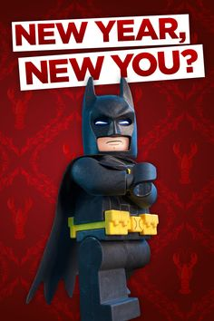 Just be more like Batman. The LEGO Batman Movie in cinemas Feb 10.