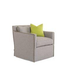 Jan Swivel Chair in Buzzi Felt