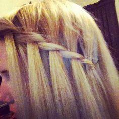 my own twist braid!
