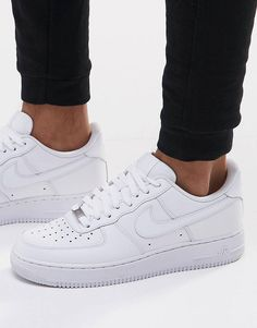 ac04c0c150d4d Nike - Air Force 1  07 - Baskets - Blanc 315122-111