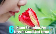 6 Home Remedies For Anosmia (Loss Of Smell) And Loss Of Taste