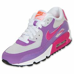The Nike Air Max 90 Kids' Running Shoes are a classic look for your kid's toes!