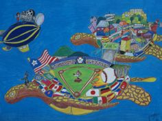 First Prize Winner of the Fazzino High School Art Contest: Schai Bilger (age 17) from a Williamsport Area High School