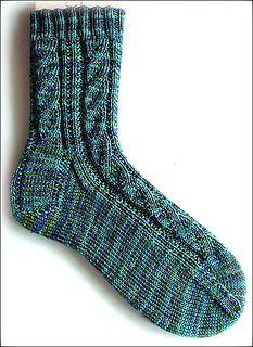 The dazzler. Free on ravelry.  Monatsmuster der Socken-Kreativ-Liste für Juli 2011.