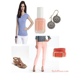 Cute Spring Outfit! #clothes #style www.styleplease.com