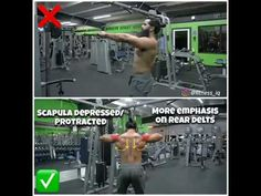 The Face Pulls is one of the few exercises in which the rear delta works as much as possible. InstructionsFace Pulls Stand in front of the rope simulator, set the rope or the attachment on the rope with two handles. Determined with weight. Take both parts of the rope in your hands away from the …