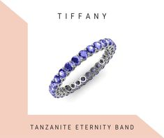 Sapphire Eternity Ring, Sapphire Band, Eternity Bands, Pink Sapphire, Gifts For My Wife, Tanzanite Ring, Diamond Studs, White Gold Rings, Beautiful Rings