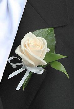 wedding boutonniere,bridal accessories,bride flowers by IrynaFleur on Etsy Prom Corsage And Boutonniere, White Boutonniere, Corsage Wedding, Boutonnieres, Wedding Boutonniere, Corsages, Wrist Corsage, Purple Wedding Flowers, Bride Flowers