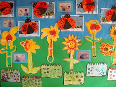 growing, learning, laughing: MINIBEAST DISPLAY - BUGS, CATERPILLARS, and PLANTS -- Reading Street Unit Idea. Summer Day Camp, Classroom Setting, Classroom Ideas, Jack And The Beanstalk, Reading Street, Addition And Subtraction, Eyfs, Caterpillar, Projects To Try