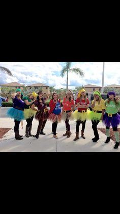snow blanco & the 7 dwarfs. Diy costumes ❤️