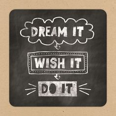 Dream it, wish it, do it! #Hallmark #HallmarkNL #lifestyle #dream #wish #do #droom #wens #doe
