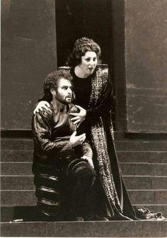 Franz Grundheber & Ghena Dimitrova in Opera Singers, Classical Music, Diva, Ballet, 1984, Couple Photos, Couples, Paris, Opera Singer