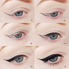 L'eyeliner perfetto in 6 step! http://www.vanitylovers.com/prodotti-make-up-occhi/eyeliner.html?utm_source=pinterest.com&utm_medium=post&utm_content=vanity-eyeliner&utm_campaign=pin-mitrucco