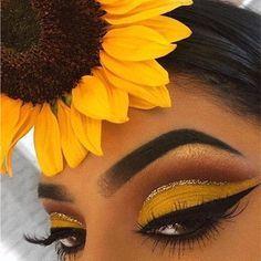 Summery Eye Make up Look