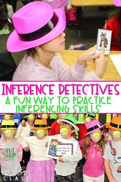 Making Inferences is fun while you lead your inference detectives through the investigation. Students use clues to rule out suspects and solve the case. Comprehension Strategies, Reading Strategies, Reading Activities, Reading Comprehension, Stem Activities, Inference Activities, Reading Resources, Kindergarten Reading, Teaching Jobs