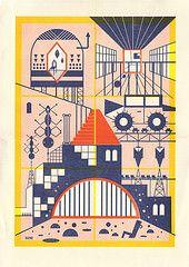 Poster impresso em risograph (Daniel BUENOZINE) Tags: city cidade car monster comics poster dead daniel carro hq bueno riso monstro esgoto quadrinhos decadente risograph parasita sanguessuga