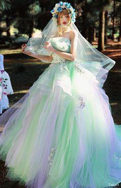 tiglily bridal 2016 strapless crumbcatcher ball gown wedding dress (scarlett) mv multicolor