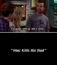 """17 """"It's Always Sunny"""" Cold Opens That Are Actually Genius Movie Memes, Movie Tv, It's Always Sunny Quotes, Bars In Philly, Cold Open, Sunny In Philadelphia, Funny Me, Funny Shit, Tv Quotes"""