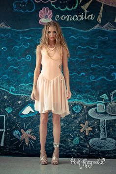 This dress seems like a great choice for a weekend at the beach #Summer2012/ ¿No les parece increíble este vestido para la playa? #PinkMagnolia