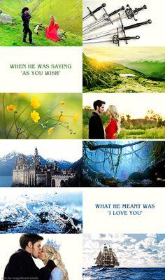 Colin O'Donoghue - Killian Jones -Captain Hook - Jennifer Morrison - Emma Swan - Once Upon A Time