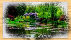 Famous gardens of impressionist painter Claude Monet in Giverny, house, water garden and flower garden. Claude Monet Giverny, Monet Garden Giverny, Best Vacation Destinations, Best Vacations, Pond Design, Garden Design, Bing Wallpaper, 1080p Wallpaper, French Impressionist Painters