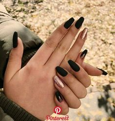 80 Ideas for the Best Halloween Nail Decoration Hairstyles . 80 Ideas for the Best Halloween Nail Decoration Hairstyles halloween nails Summer Acrylic Nails, Best Acrylic Nails, Acrylic Nail Designs, Summer Nails, Black Nail Designs, Winter Nails, Stylish Nails, Trendy Nails, Aycrlic Nails