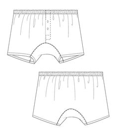 mens boxer shorts pattern 6001 boxer shorts