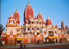 Also known as Gita Temple, the Birla Mandir in Mathura was constructed by Jugal Kishore Birla in 1946 and is one of the most popular attractions of Mathura.   #India #GitaTemple #BirlaMandir #Mathura #Agra #UttarPradesh #templesofindia #travel #trip #tour #yolo #usa #UCLA
