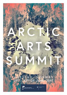 Arctic Arts Summit 2017 is the first summit and conference where all eight Arctic countries participate to highlight circumpolar arts and culture.  The Arctic Arts Summit will serve as a catalyst for new knowledge and perspectives.  At the summit, policymakers and stakeholders from the cultural sector throughout the Arctic region will present, analyse and discuss the role of arts and cultures in the Arctic.