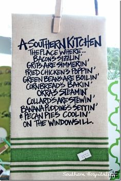 a southern kitchen