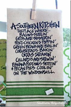 a southern kitchen