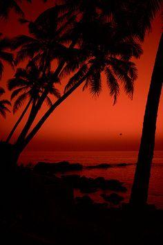 Goa sunset #Red