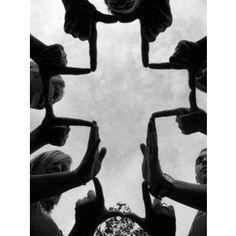 hand created cross