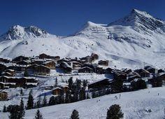 Les 4 meilleures stations pour des vacances de ski en Avril la plagne