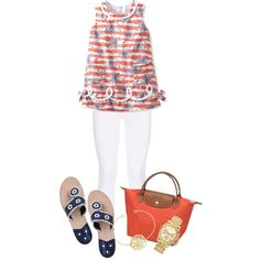 """""""Lilly pulitzer tank"""" by preppy-1 on Polyvore"""
