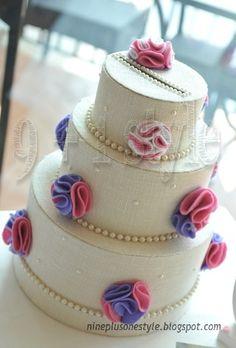 9+1style: Torta portabuste - Wedding card box