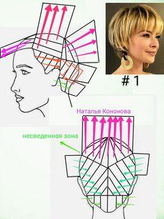 Simply Hairstyles, Pixie Hairstyles, Hair Cut Guide, Hair Cutting Techniques, Cool Haircuts, Pixie Cut, Hair Designs, Cut And Color, New Hair