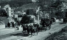 Colla de Sant Medir a Vallcarca, l'any 1915