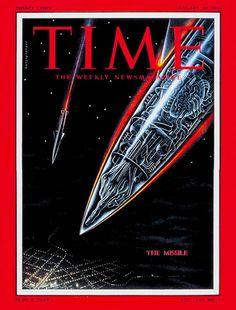 TIME Cover: The Missile (Boris Artzybasheff, 1956)