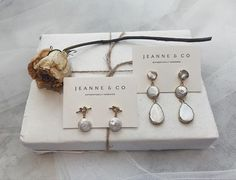 """Jeanne and Co on Instagram: """"𝔽𝕣𝕖𝕤𝕙 𝕨𝕒𝕥𝕖𝕣 𝕡𝕖𝕒𝕣𝕝𝕤. ⠀⠀⠀⠀⠀⠀⠀⠀⠀ Our genuine fresh water pearl earrings collection is expanding and we love them so much! Just added are our…"""" Water Pearls, Fresh Water, Pearl Earrings, Place Card Holders, Collection, Instagram, Pearl Studs, Bead Earrings, Pearl Stud Earrings"""