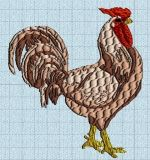 coq04_machine Roosters, Embroidery Patterns, Free, Tutorials, Feather, Animaux, Needlepoint Patterns, Cross Stitch Patterns, Embroidery Designs