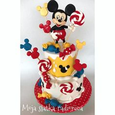 Mickey Mouse cake by Branka Vukcevic