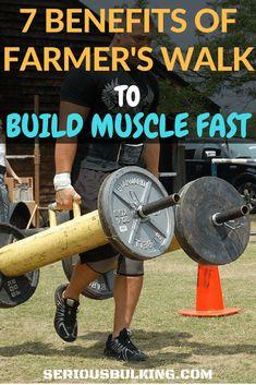 Farmer's Walk for Building Muscle - 7 Key Benefits - SERIOUS BULKING