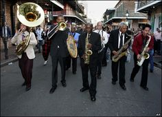 New Orleans Jazz and Heritage Festival.  Would love to go to New Orleans.