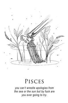 and i'm gonna be me i'm gonna be free — musterni-illustrates: - shitty horoscopes book...